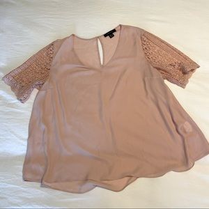Atmosphere Baby Pink Blouse size 18